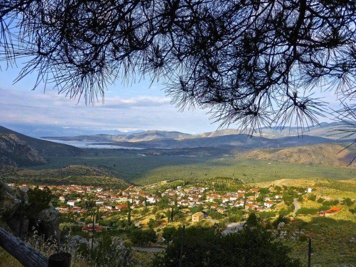 Village greque de Arachova